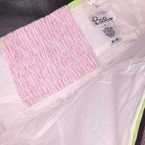 Lilly Pulitzer Tops - Lilly Pulitzer White Label Pink/green Top Sz 2/4